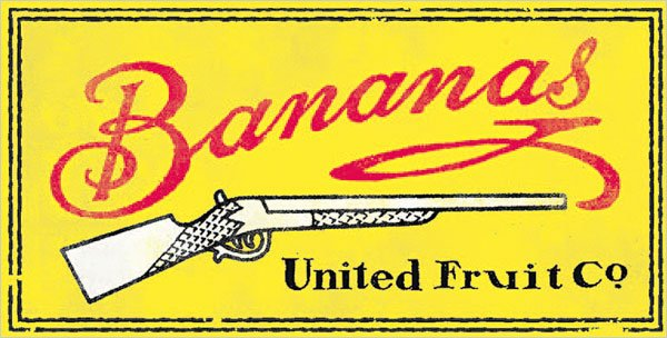 United-Fruit-bananas-logo-with-gun