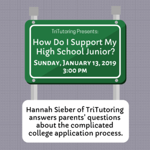 How Do I Support My High School Junior? @ Simoni Room